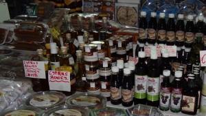 Varius carob products